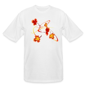 A Fiery Wild Autumn Ride - Men's Tall T-Shirt