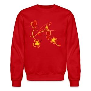 A Fiery Wild Autumn Ride - Crewneck Sweatshirt