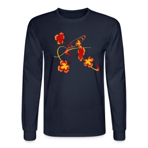 A Fiery Wild Autumn Ride - Men's Long Sleeve T-Shirt