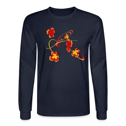 A Fiery Wild Autumn Ride - Men's Long Sleeve T-Shirt