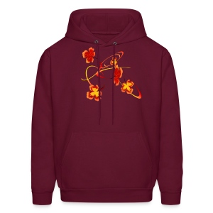 A Fiery Wild Autumn Ride - Men's Hoodie