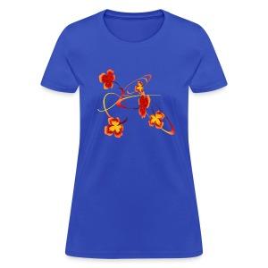 A Fiery Wild Autumn Ride - Women's T-Shirt