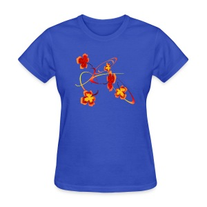 A Fiery Wild Autumn Ride - Women's T-Shirt