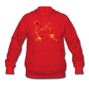 A Fiery Wild Autumn Ride - Women's Hoodie