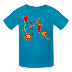 A Fiery Wild Autumn Ride - Kids' T-Shirt