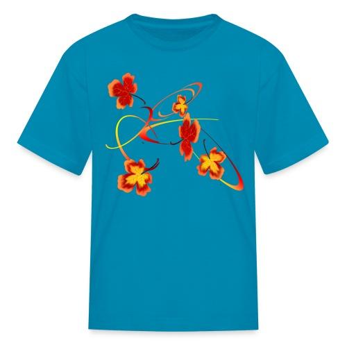 A Fiery Wild Autumn Ride - Kids' T-Shirt