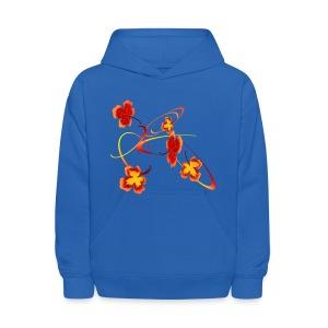 A Fiery Wild Autumn Ride - Kids' Hoodie