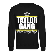 Long Sleeve Shirts ~ Crewneck Sweatshirt ~ Taylor Gang Crown