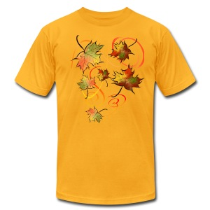 Racing The Autumn Wind - Men's T-Shirt by American Apparel