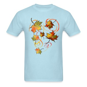 Racing The Autumn Wind - Men's T-Shirt