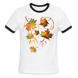 Racing The Autumn Wind - Men's Ringer T-Shirt