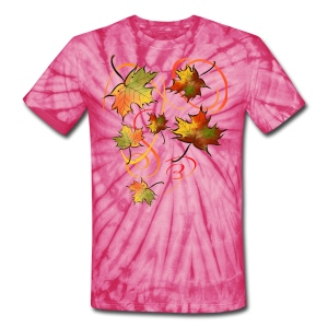 Racing The Autumn Wind - Unisex Tie Dye T-Shirt