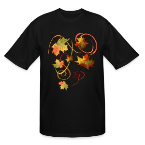 Racing The Autumn Wind - Men's Tall T-Shirt