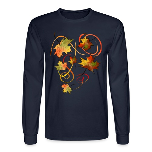 Racing The Autumn Wind - Men's Long Sleeve T-Shirt