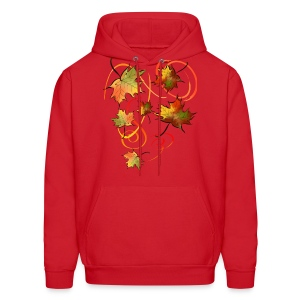 Racing The Autumn Wind - Men's Hoodie