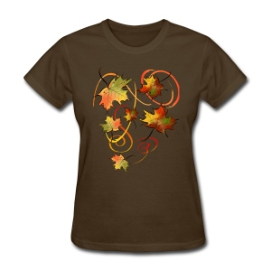 Racing The Autumn Wind - Women's T-Shirt