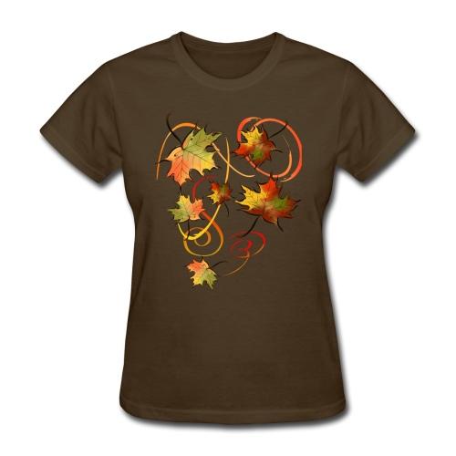 Racing The Autumn Wind - Women's T-Shirt