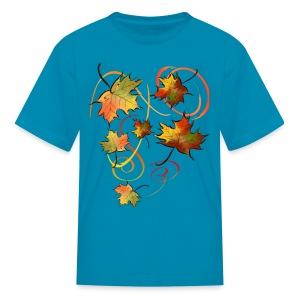 Racing The Autumn Wind - Kids' T-Shirt