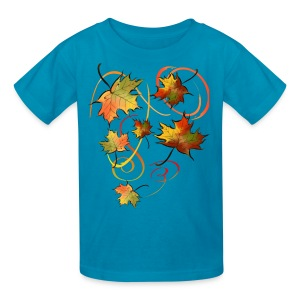 Racing The Autumn Wind - Kids' T-Shirt