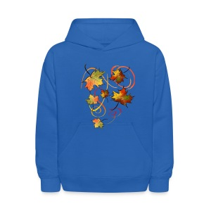 Racing The Autumn Wind - Kids' Hoodie
