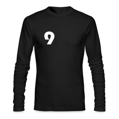Black Player sleeve - Men's Long Sleeve T-Shirt by Next Level