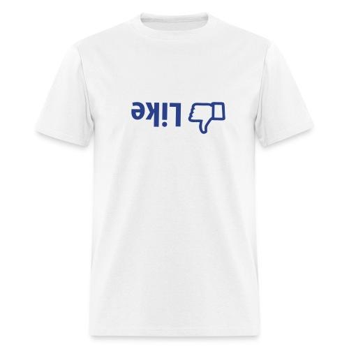 dislike button - Men's T-Shirt