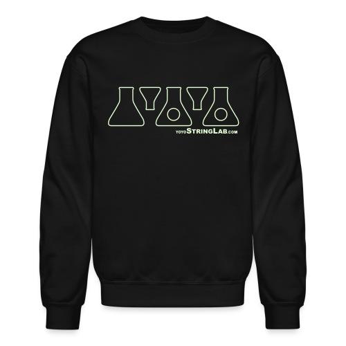 Glow YoYo Logo - Crewneck Sweatshirt