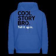 Hoodies ~ Men's Hoodie ~ Men Cool Story Bro Sweatshirt