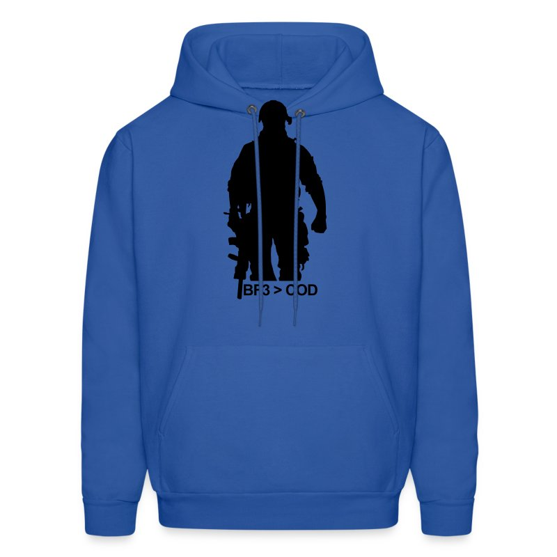 Men's Hoodie - Let your flag fly. Tell them who's boss. :)