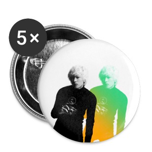 Eunhyuk A-Cha Buttons - Large Buttons