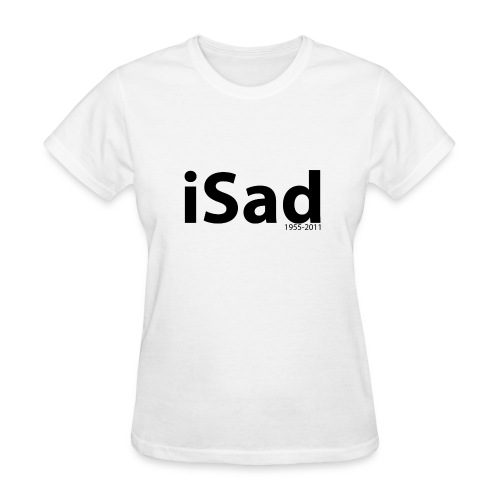 Steve Jobs 1955-2011 t-shirt - Women's T-Shirt
