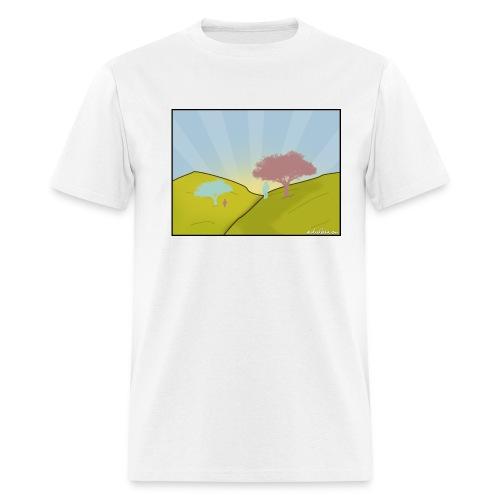 Comming From - Men's T-Shirt