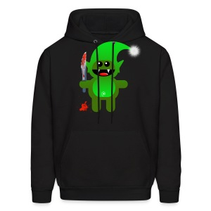 SAVAGE SANTAS LITTLE HELPER - Men's Hoodie