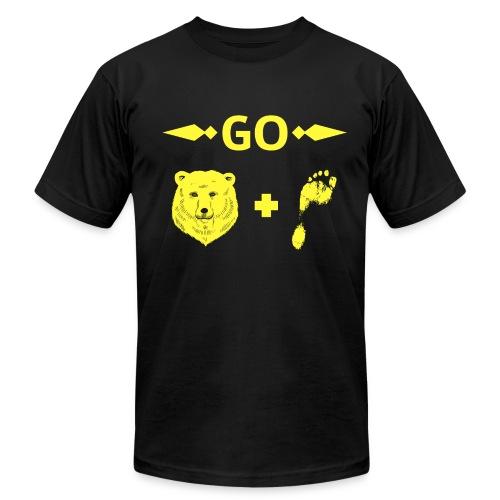 Go Barefoot - Men's  Jersey T-Shirt
