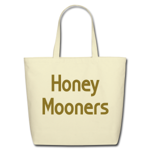 Honey Mooners - Eco-Friendly Cotton Tote