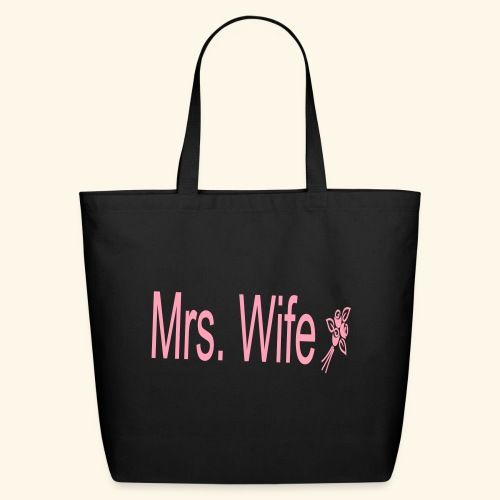 Mrs. Wife - Eco-Friendly Cotton Tote