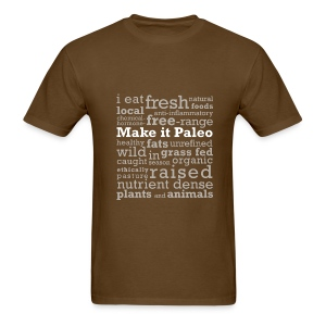 Make it Paleo - Men's T-Shirt
