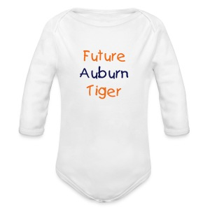 Future Auburn Tiger LS OneZ - Long Sleeve Baby Bodysuit