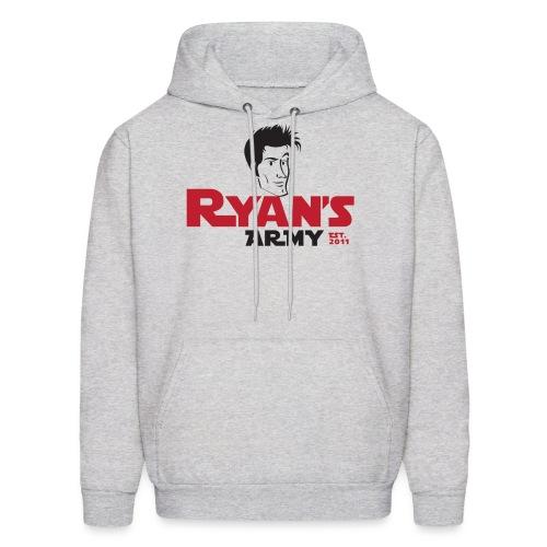 Ryan's Army Sweatshirt Logo 3 - Men's Hoodie