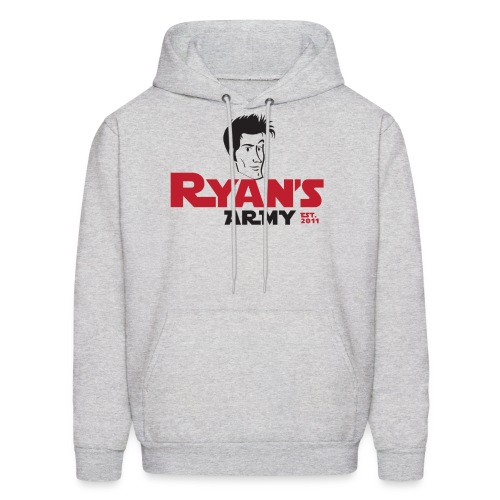 Ryan's Army Sweatshirt Logo 3 - Men's Hoodie