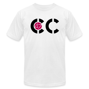 F YOU CANCER  Front view, click to see back - Men's Fine Jersey T-Shirt