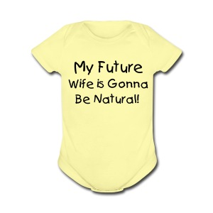 SN&LI! Future Wife Bib - Short Sleeve Baby Bodysuit