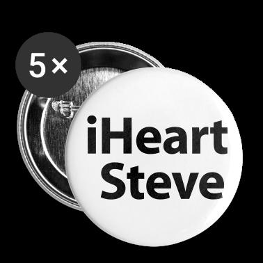 i heart Steve Buttons
