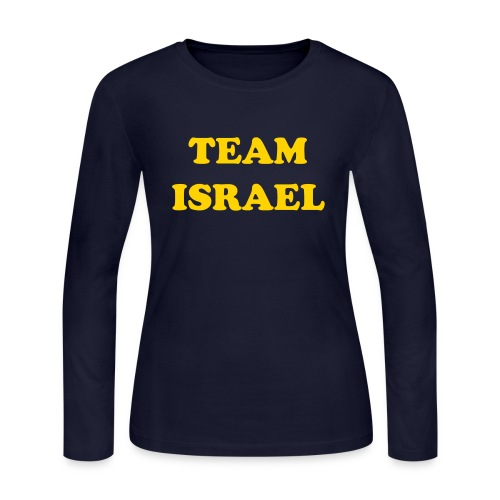 Go Israel Hughes! - Women's Long Sleeve Jersey T-Shirt