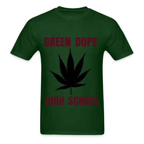 GDHS POT LEAF - Men's T-Shirt