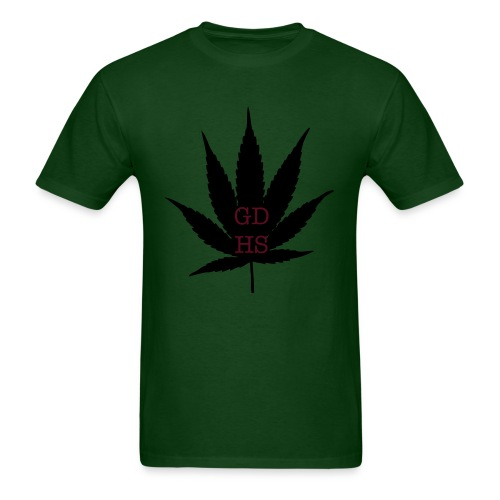 GDHS POT LEAF 2 - Men's T-Shirt