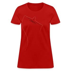 Jet Stitched - Women's T-Shirt
