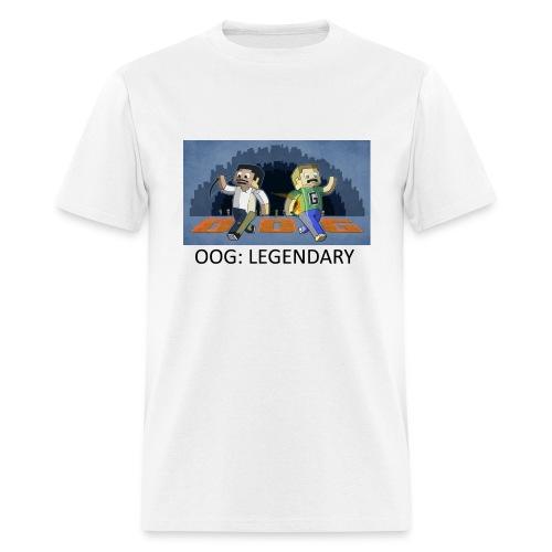 OOG: Legendary - White Standard Weight - Men's T-Shirt