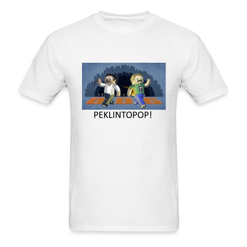 PEKLINTOPOP - White Standard Weight - Men's T-Shirt