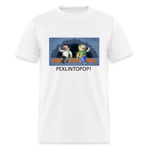 PEKLINTOPOP - White Standard Weight - Men's T-Shirt